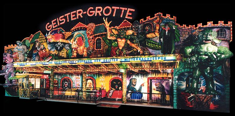 Geister Grotte Monsterhaus
